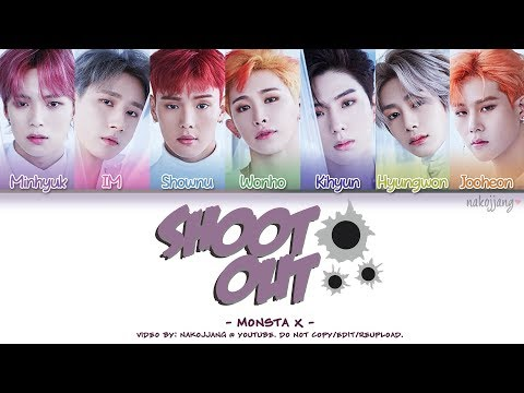 MONSTA X (몬스타엑스) – SHOOT OUT (Coded Lyrics Eng/Rom/Han/가사)