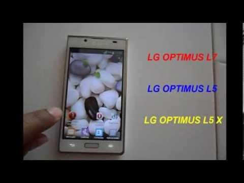 Android 4.4 kitkat para lg optimus L5. L7 y L5x