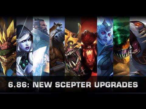 Dota 2 New Scepter Upgrades (Patch 6.86)