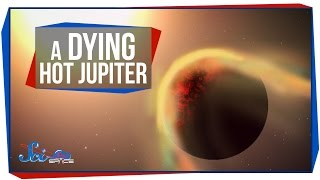 A Dying Hot Jupiter and The Birth of Carbon Planets