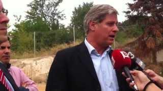 Alberto Fernández anuncia inversiones en el barrio de Trinitat