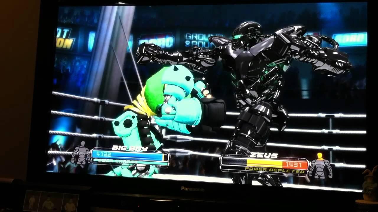 Real Steel Pictures Real Steel Zeus vs Big Boy