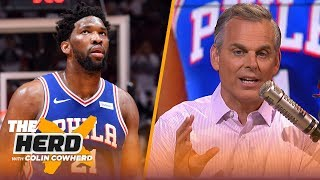 76ers should trade Embiid while he has value, Colin has 'no idea' on Kawhi's plans | NBA | THE HERD
