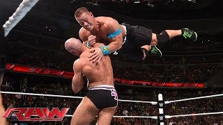 John Cena vs. Cesaro - United States Championship Match: Raw, June 29, 2015