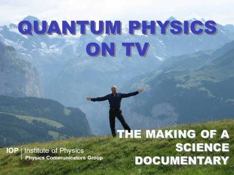 Quantum physics on TV: Professor Jim Al-Khalili