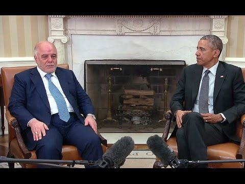 President Obama Meets with Iraqi Prime Minister