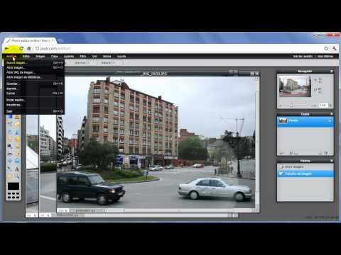 Cómo reducir el tamaño de las fotos con Pixlr en Windows 7, XP, Mac y Linux