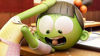Funny Animated Cartoon | Spookiz Zizi's Removable Head is The Nutcracker | Cartoon for Children