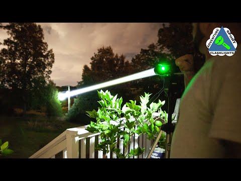 White Laser Flashlight, Acebeam W30