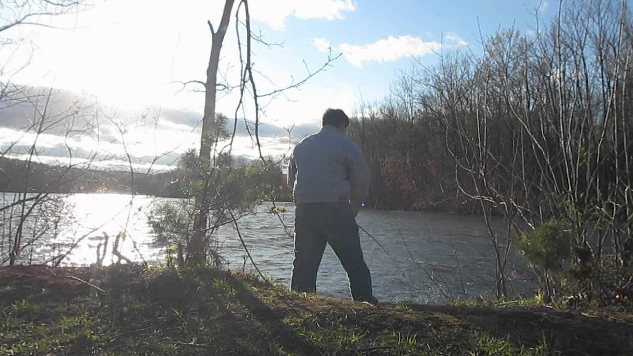 Crappie fishing in maine april 28 2012 youtube for Maine out of state fishing license