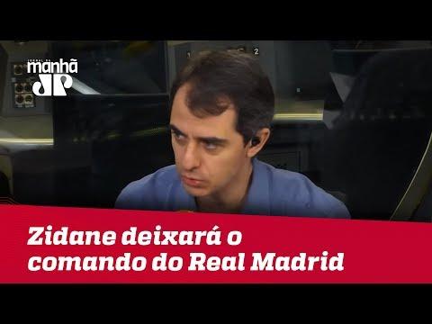 Zidane anúncio que deixará o comando do Real Madrid thumbnail