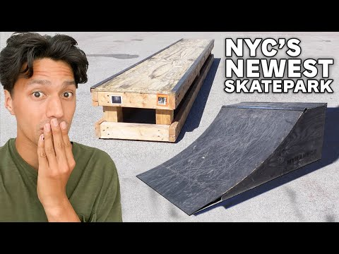 NYC's Newest Skatepark is Bad, but I Love It