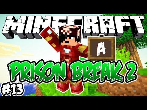 ESTAMOS NA A PRISON BREAK 2: Minecraft #13