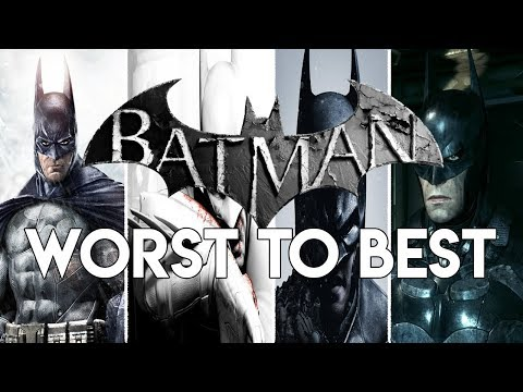 Ranking The Batman Arkham Games From Worst To Best