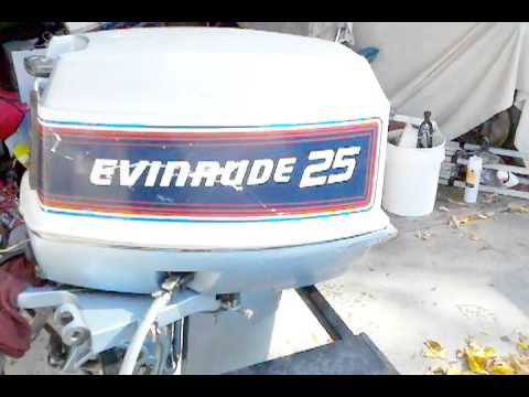 25 Hp Evinrude Outboard For Sale Youtube