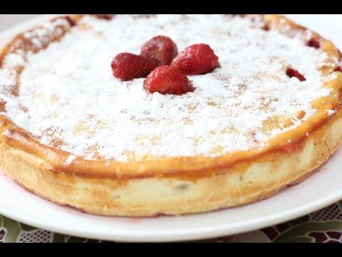 Рецепт простого вкусного клубничного пирога