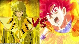Shaka de virgo vs Goku (Saint seiya vs Dragon ball z)