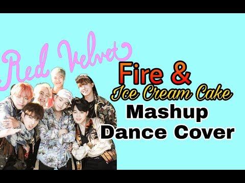 BTS/RED VELVET - Fire/Ice Cream Cake mashup (by RYUSERALOVER) dance cover