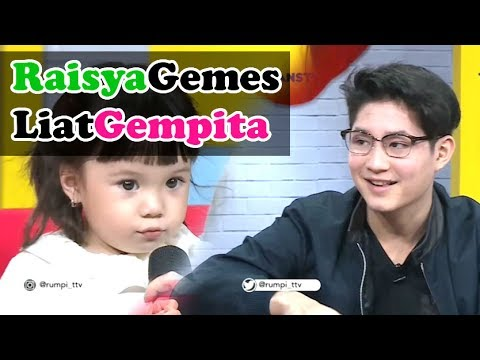 RASYA Gemes Liat Lucunya GEMPITA - Rumpi 19 Juni 2017