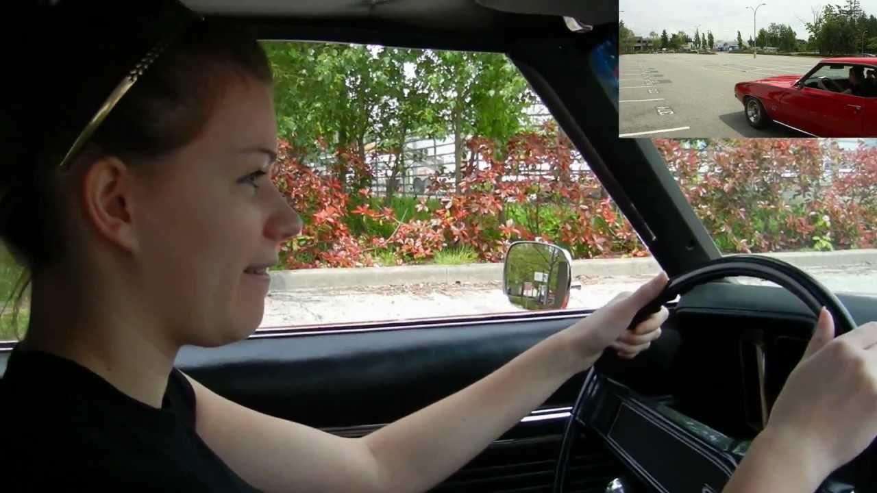 17 Year Old Amanda Drives My 900hp 69 Camaro - YouTube