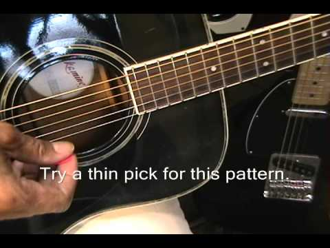 Taylor Swift 22  How To Play On Guitar Easy Chords W Easy Picking Pattern Instruction video