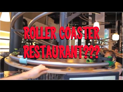 Rollercoaster Restaurant!?!  (Schwerelos & Zeitlos in Hamburg, Germany)