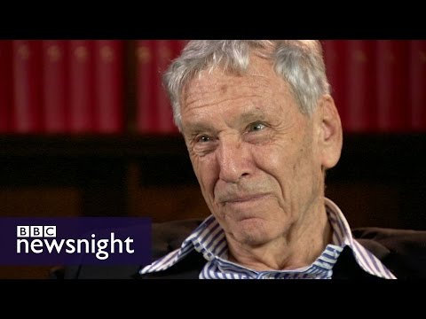 Amos Oz on being called a 'traitor' - BBC Newsnight