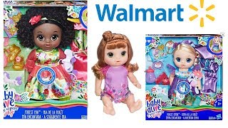 Baby Alive once upon a baby doll and Walmart exclusive potty dance baby coming to stores soon