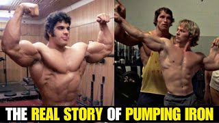 The HISTORY Behind PUMPING IRON w/John Hansen!