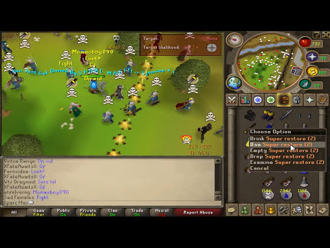 Runescape 2007 - Sparc Mac's Bounty Hunter Reward Solution!