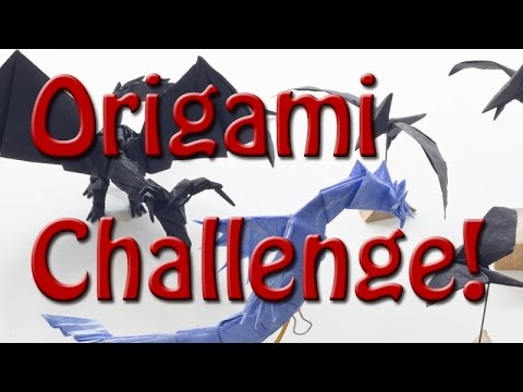 Origami Challenge! Wings!