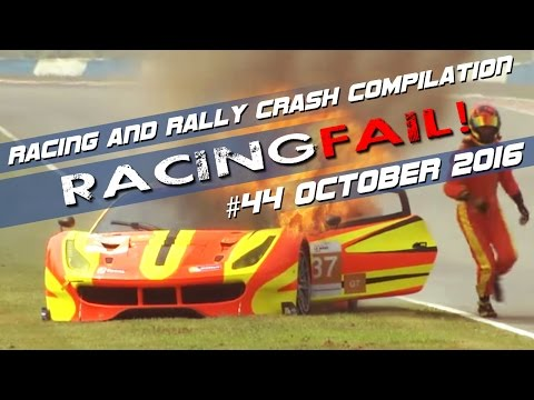 Racing and Rally Crash Compilation Week 44 October 2016