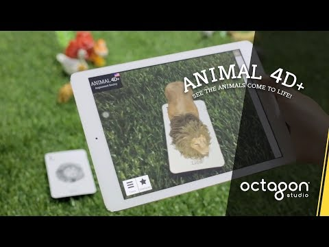 New Features in Animal 4D+ Augmented Reality Flashcards | Octagon Studio