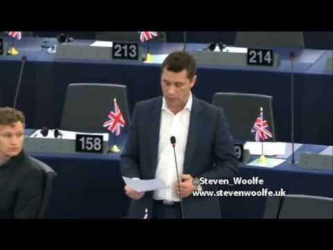 Once again, EU is driving business out of Europe - Steven Woolfe MEP