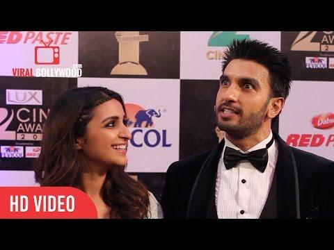 Crazy Ranveer Singh with Beautiful Parineeti Chopra |  Zee Cine Awards 2016 | Viralbollywood