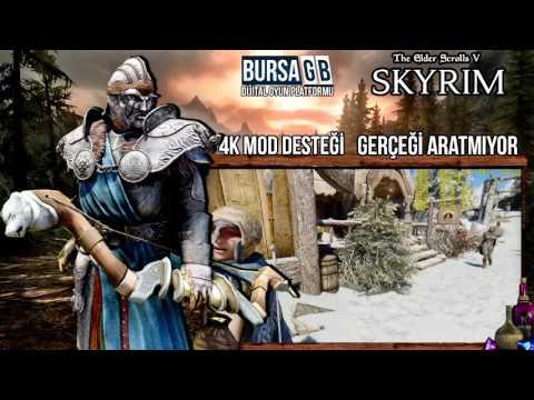 The Elder Scrolls 5: Skyrim 4K Mod Geliyor / Steam Cüzdan Kodlarınız BursaGB ' de