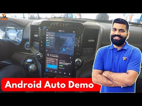 Android Auto Demo - The Next Gen Android Auto without Phone
