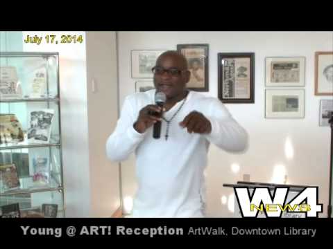 W4 News - Opening Reception Young @ ART! - 7/17/2014