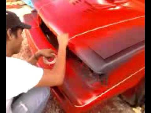 Como pintar correctamente un auto con franjas 2 youtube - Como pintar un radiador ...