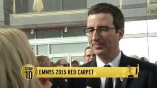 John Oliver On Tony Abbott At The Emmys | Studio 10