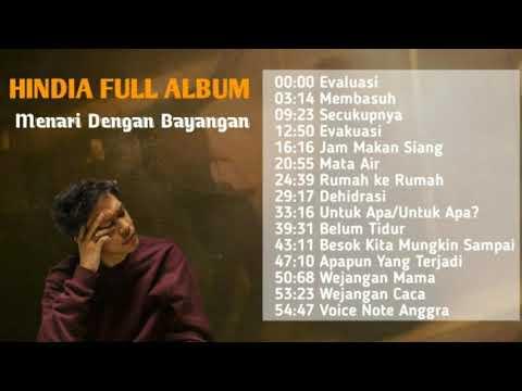 Download  Hindia Baskara Putra FULL ALBUM TERBARU | Menari Dengan Bayangan #wordfangs Gratis, download lagu terbaru