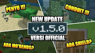 NEW UPDATE !!! MCPE V 1.5.0.14 OFFICIAL 😄 ADA SHIELD,MOBENDS ?😱 #McpeUpdate #McpeNews