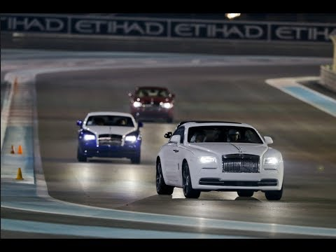 2014 Rolls-Royce Wraith Test Drive at Yas Marina Circuit (Vlog #162)