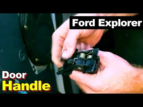 1995 Ford Explorer Door Handle Repair
