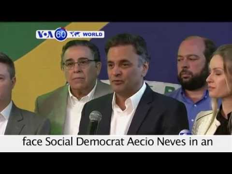 Brazil's President Rousseff to Face Run-Off Election- VOA World 10-06-14