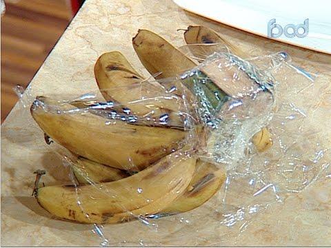 حفظ الموز على طريقة الشيف #هاله_فهمي من برنامج #البلدى_يوكل #فوود