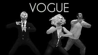 VOGUE in Second Life with Isa Cheren and Trevor Phillips