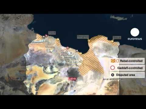 Ras Lanuf, Brega under new Libyan gov't attack