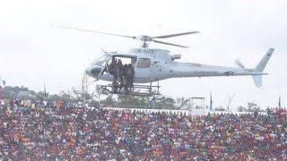 DIAMONDI ALIVYOINGIA NA HELICOPTER  SIMBA DAY, MANALA ATAMBA THIS IS SIMBA