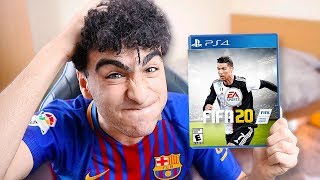 OMG I GOT FIFA 20 EARLY!?